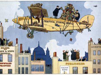 Illustration, Heath Robinson