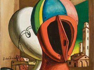 Oreste e Pilade, 1966, Giorgio de Chirico