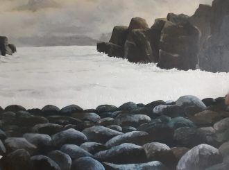 The Clunk Hole, Portstewart by Michael Humphreys