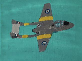 De Havilland Vampire, Stuart McCracken
