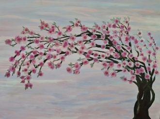 Cherry Blossom, Julienne Bir h