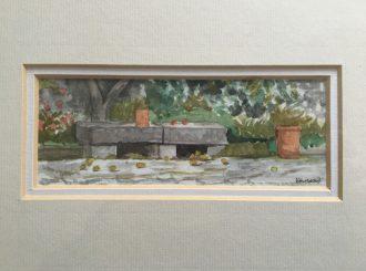 A Quiet Space In A Tuscan Garden Ken Ward