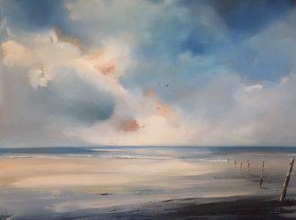 Still by Paula McKinney (Oil on board, 24x24inches, Framed £799)