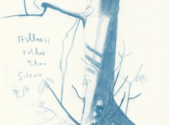 Stillness Rather Than Silence by Corrina Askin (Pencil on paper, A4, £25 per print)